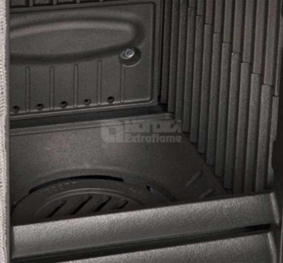 Печь Nordica Gemma бордо. Фото 2